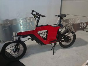 Un prototype de vélo cargo