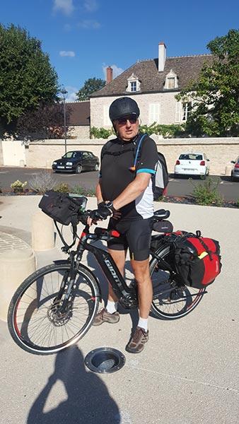 Jean-Marc en voyage à VTC électrique