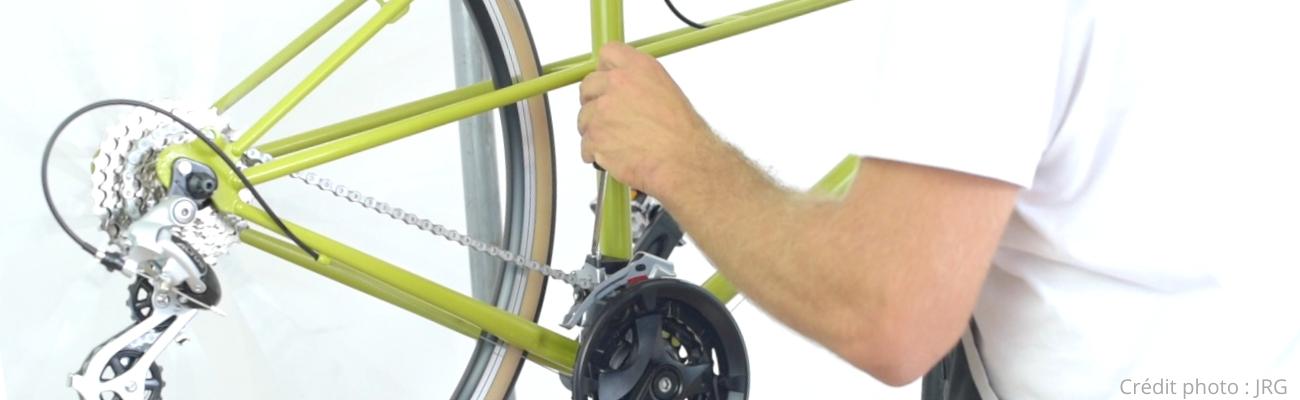 Accessoire Vélo Pince tire cable avec blocage