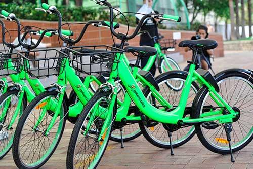 Les vélos en free-floating Gobee.bike n'ont pas résisté longtemps