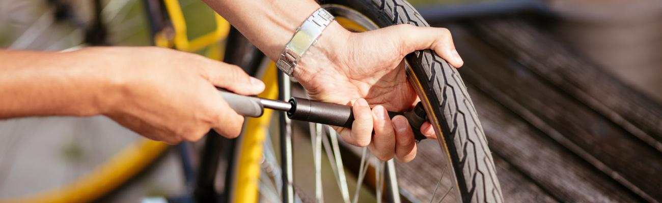 Comment bien gonfler son pneu vélo ?