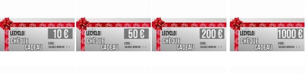 Le chèques cadeau LeCyclo, le cadeau vélo pour Noël qui plaît toujours