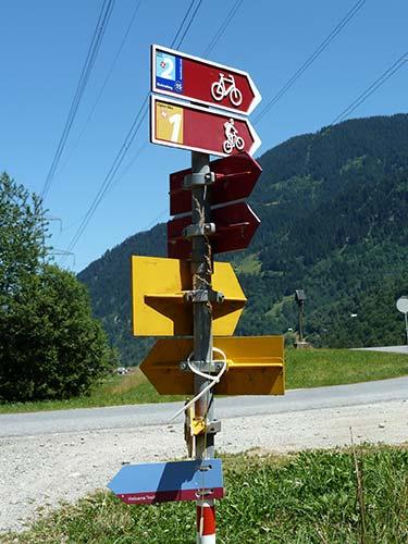 L'itinéraire des 3 pays à la croisée des chemins