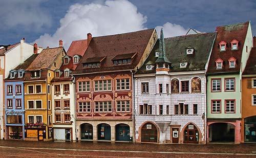 Mulhouse et ses façades colorées