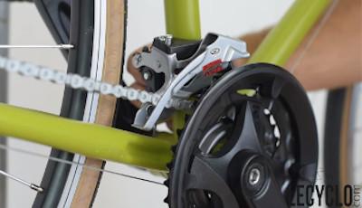 Hauteur du dérailleur avant vélo