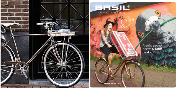 Paniers vélo avant