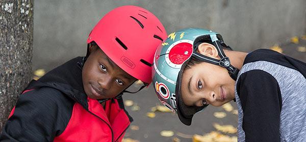 Les casques design Nutcase pour enfants et adolescents