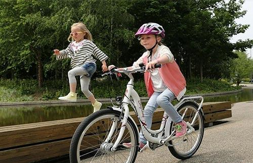 Offrir à un enfant son premier vélo Puky
