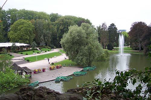 Parc de l'Orangerie sur la Piste des Forts
