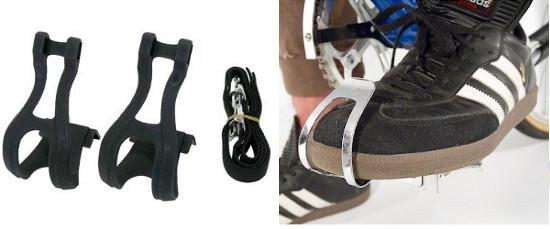 Cale-pieds pour pédales vélo