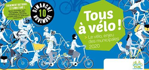 """Visuel de la mobilisation """"Tous à vélo"""""""