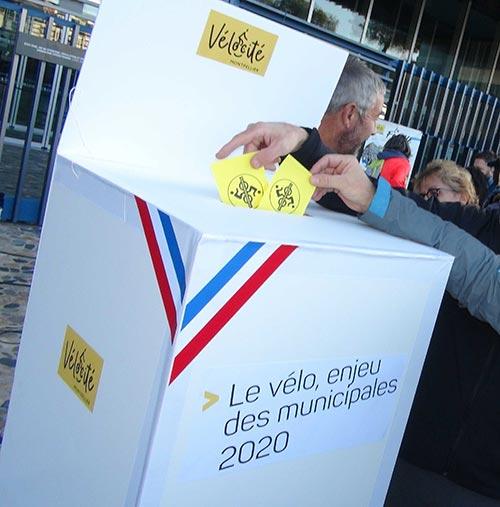 Le vélo, enjeu des municipales 2020 à Montpellier