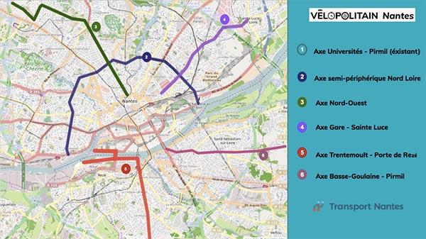 Elections municipales 2020 à Nantes, les propositions vélo des assos nantaises