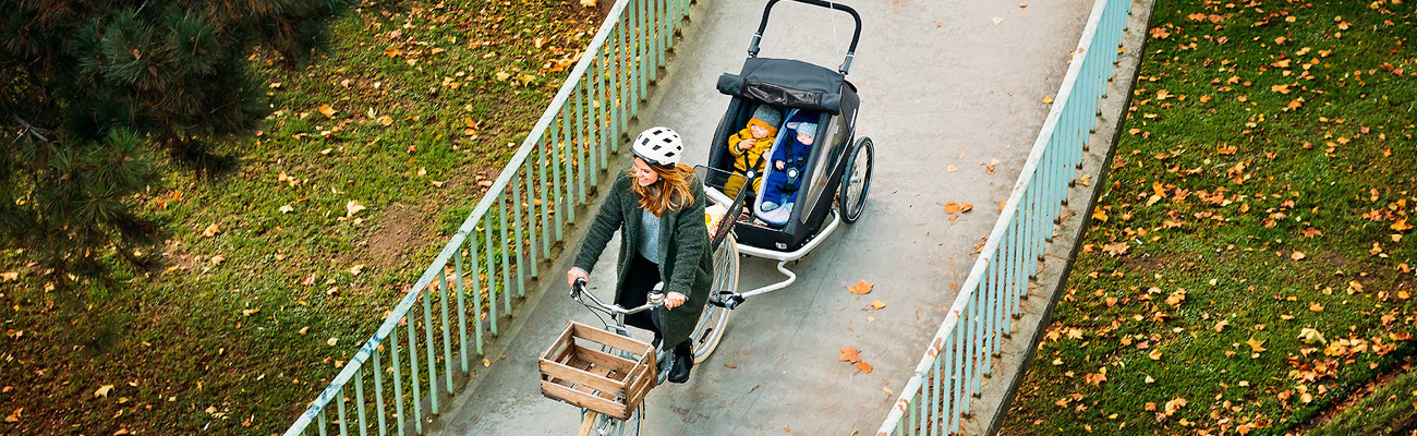 Remorques vélo Croozer pour enfant et cargo, les nouveautés 2020