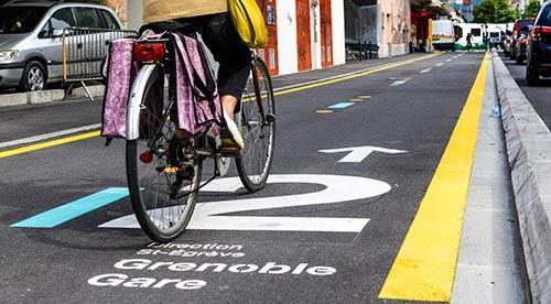 Les autoroutes vélos Chronovélo, une initiative du maire actuel
