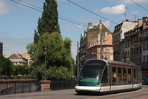 Le tramway de Strasbourg est un des premiers en France