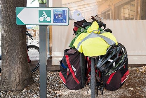 Vélo de voyage sur La Méditerranée à vélo