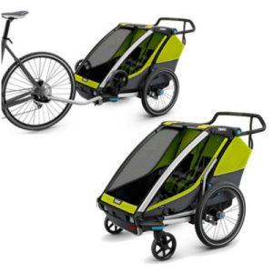 Remorque vélo enfant Thule Cab