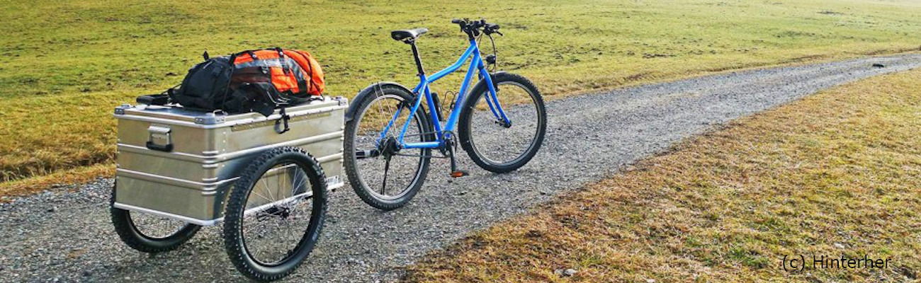 Choisir une remorque vélo utilitaire pour marchandise
