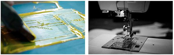 Usines de fabrication des sacoches Apidura