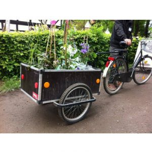 Remorque vélo pour marchandise