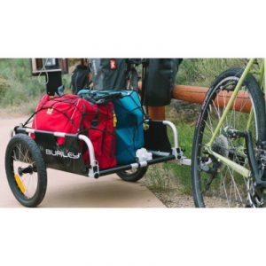 remorque vélo cargo voyage