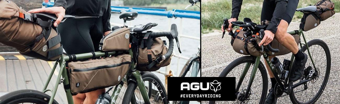 Sacoches vélo Agu, la gamme bikepacking Venture