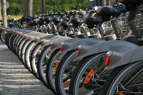 Des vélos en libre service
