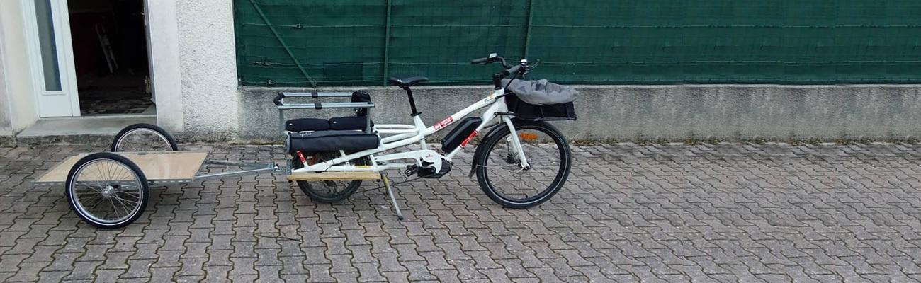 Témoignage sur la remorque vélo Hinterher: choix et fabrication