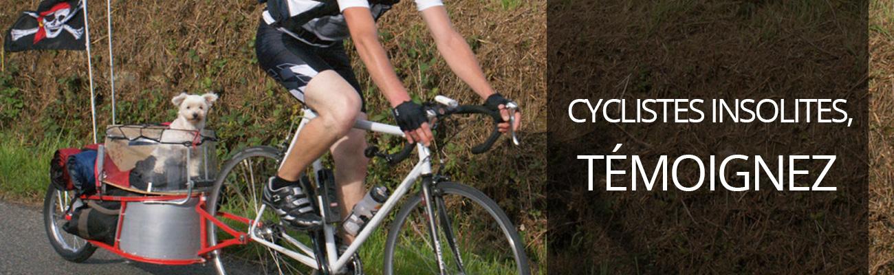 Appel à témoignages de cyclistes avec vélos insolites
