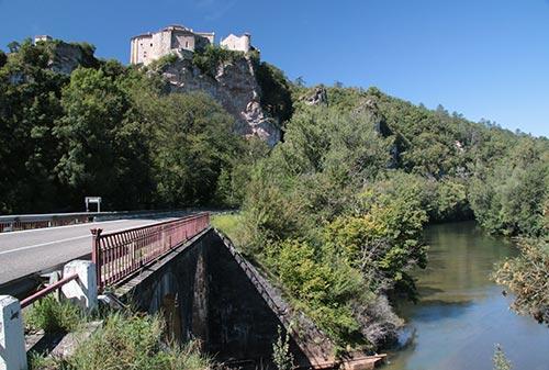 Château perché de Bruniquel