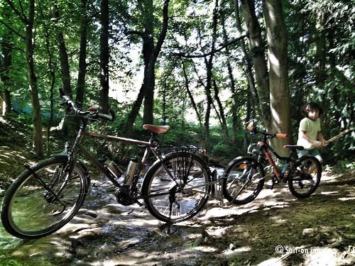 Tandem FollowMe pour du vélo en sentiers