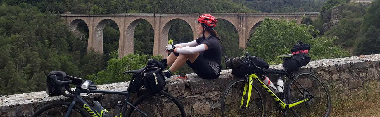 Agnès, comment je suis tombée dans le bain du voyage à vélo