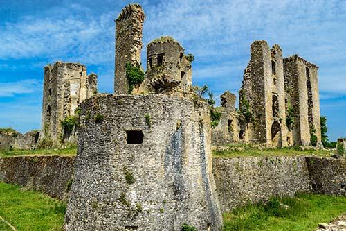 Chateau cathare en Ariège sur la V81
