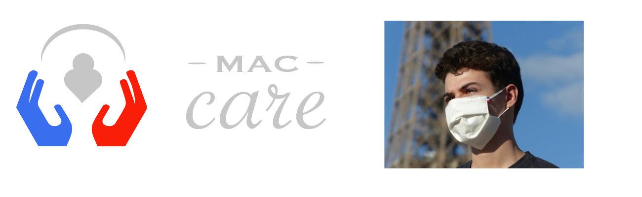 Les masques Mac Care pour faire face à la pandémie