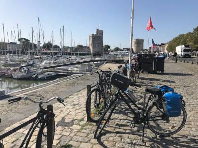 Port de la Rochelle à vélo