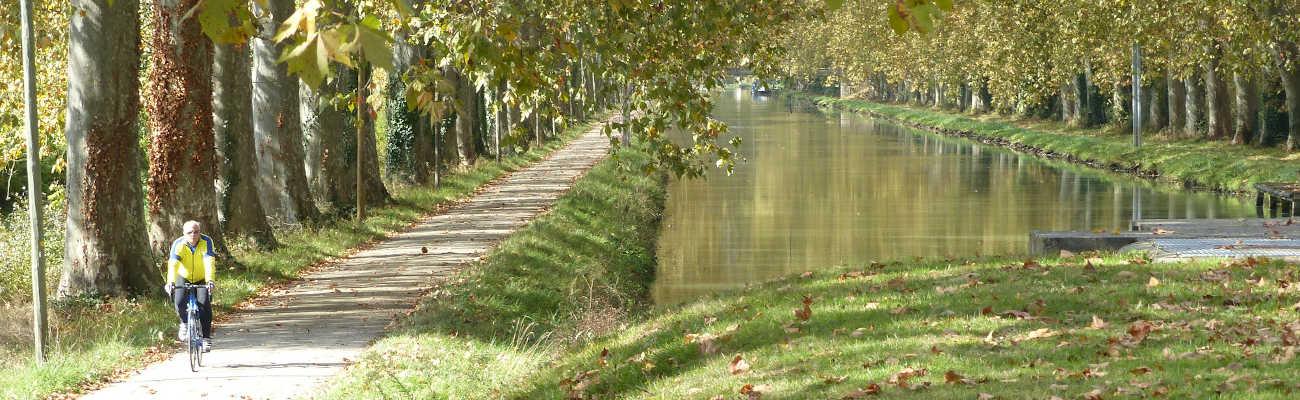 De Bordeaux à Toulouse par le Canal de Garonne avec le Vélo Voyageur