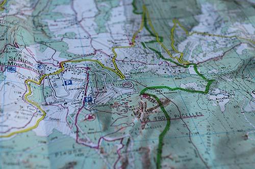 Carte Nizier-du-Moucherotte