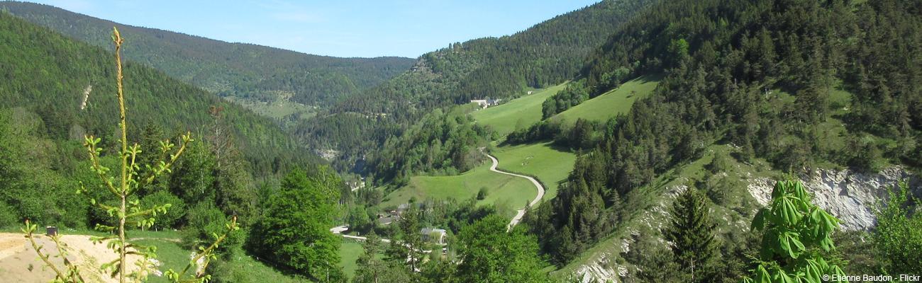 Via Vercors, une voie douce en montagne pour un séjour vélo en étoile
