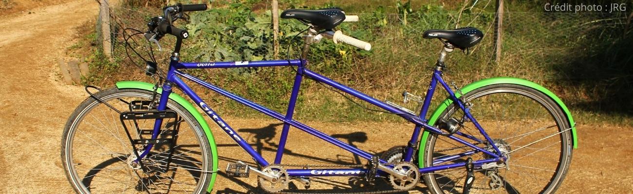 Rénovation de tandem vélo pour cyclotourisme : notre projet !
