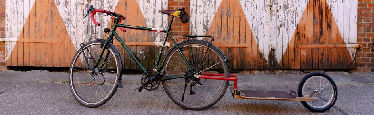 Nous avons testé la remorque vélo écologique Caméléon Frei Adventure