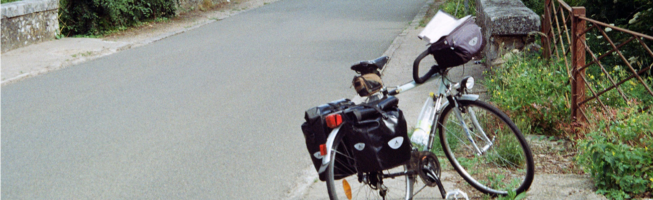 Portrait de cyclotouriste : les rêveries d'un cycliste solitaire