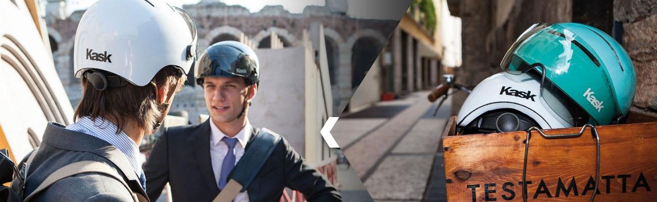 KASK : des casques vélo haut de gamme pour la ville et le vélotaf