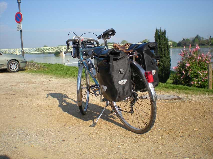 portrait cyclotouriste Jean-francois vélo