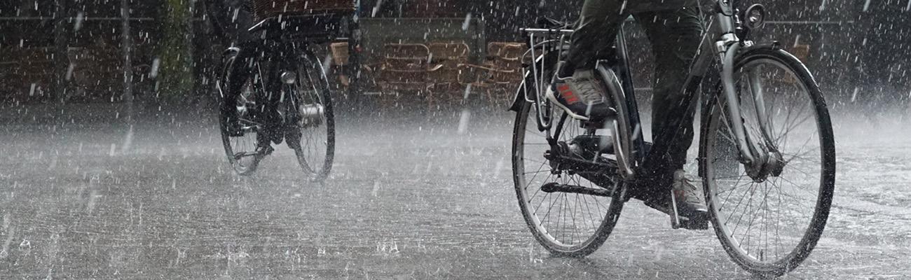 Vélotaf : la pluie n'est pas si fréquente qu'on pourrait le croire