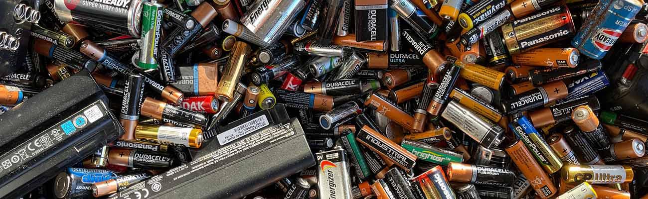 pile et batterie pour vélo électrique recyclage