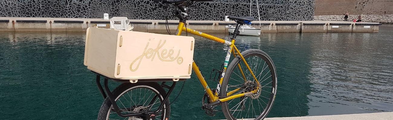 Test de Joker Bike, la fourche qui transforme un vélo en vélo cargo