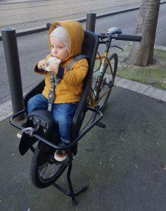 Siège enfant sur Joker Bike