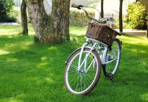 vélo vintage pneus marrons