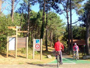 Piste cyclable de la Vélodyssée